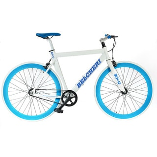Belcheri NYC White/ Blue Fixed Gear Bicycle