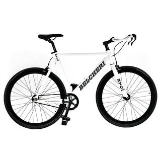 Belcheri NYC PRO White Fixed Gear Bicycle