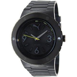 Puma Men's Blast PU103331002 Black Plastic Analog Quartz Watch with Black Dial