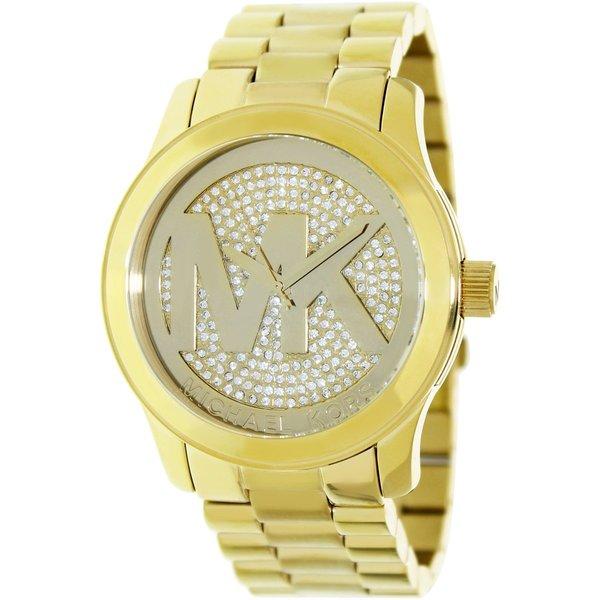 Michael Kors Women's MK5706 Goldtone Stainless Steel Quartz Watch with Goldtone Dial