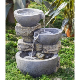 Rock and Pot Water Fountain