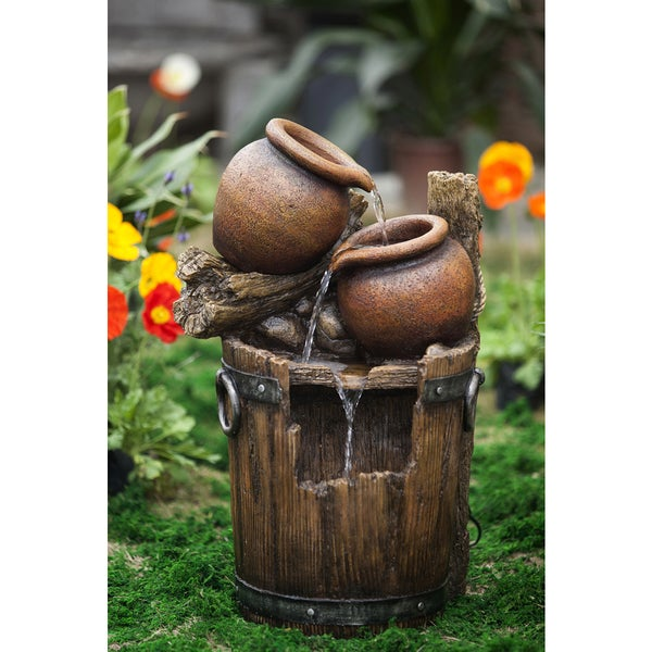 Pot and Urn Water Fountain