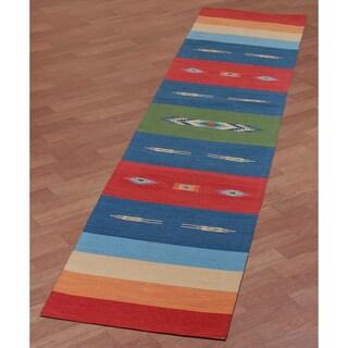 Sedona Rojo Runner Rug (2'6 x 12')