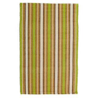 Meadow Cotton Stripe Rag Area Rug (6' x 9')