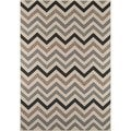 Indoor/ Outdoor Sage Chevron Rug (1'8 x 3'7)