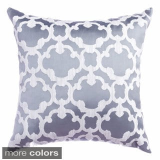 Peyton Tile Woven 18-inch Throw Pillow