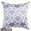 Peyton Tile Woven 18-inch Throw Pillow
