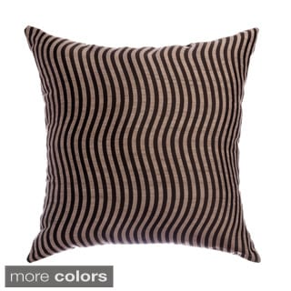 Payton 18-inch Wave Woven Decorative Throw Pillows (Set of 2)