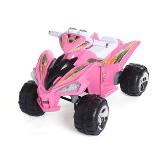 Step 2 12V Pink Super Quad Battery Operated Ride On