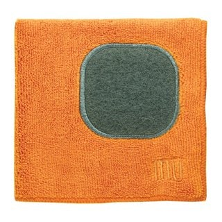 Mukitchen Mumodern Orange Microfiber Dishcloth