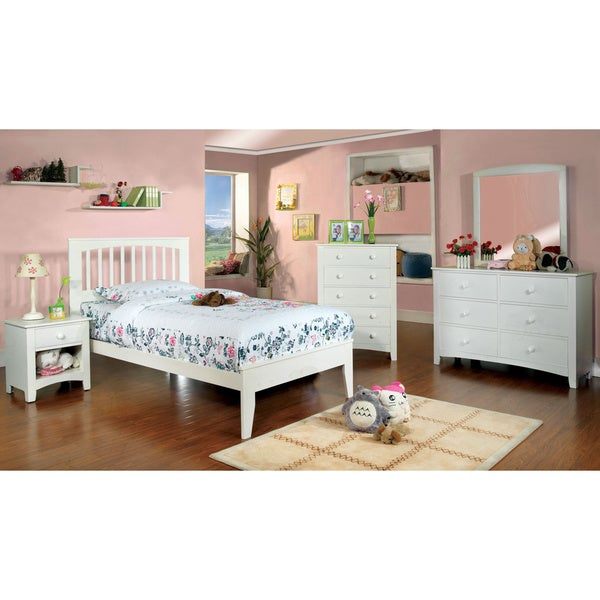 furniture of america martha mission style 4 piece bedroom