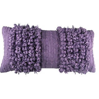 Funberry Grape Down Filled Throw Pillow