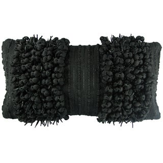 Funberry Black Down Filled Throw Pillow