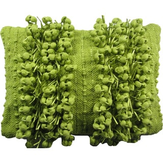 Funberry Green Down Filled Throw Pillow