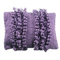 Funberry Purple Down Filled Throw Pillow