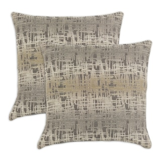 Etcha Sketch Palisades 17-inch Throw Pillows (Set of 2)