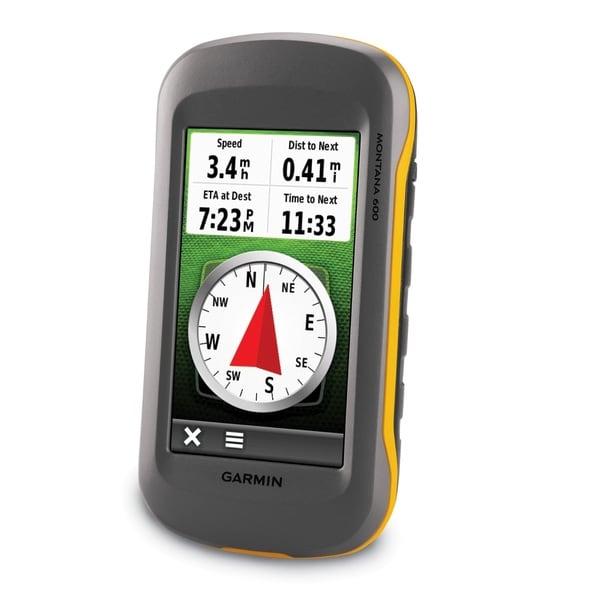 Garmin Montana 600 GPS Handheld Device