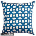 Alexia Geometric 20-inch Feather and Down Filled Throw Pillow (Set of 2)