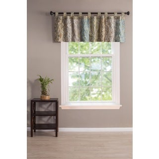 Greenland Home Fashions Vintage Paisley Patchwork Window Valance