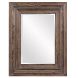 Abram Wood Retangle Frame Mirror