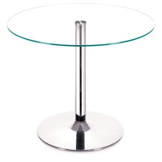 Zuo Galaxy Dining Table Clear Glass
