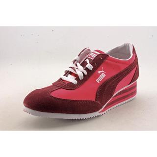 Puma Women's 'Caroline Stripe ' Regular Suede Athletic Shoe