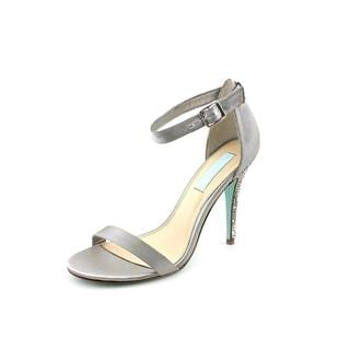 Betsey Johnson Women's 'Bells' Satin Sandals