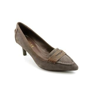 Lauren Ralph Lauren Women's 'Edeena II' Regular Suede Dress Shoes