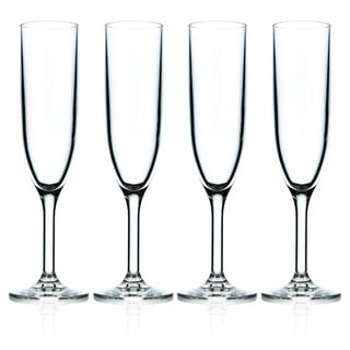 Drinique Champagne Flutes (Set of 4)
