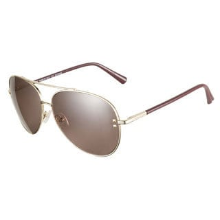 Valentino V106S 715 Gold 57 Sunglasses