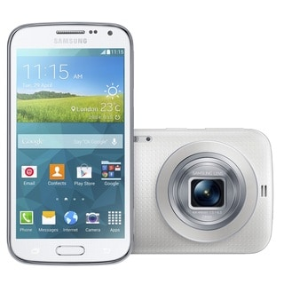 Samsung Galaxy K / S5 Zoom SM-C111 Unlocked GSM White Camera Phone