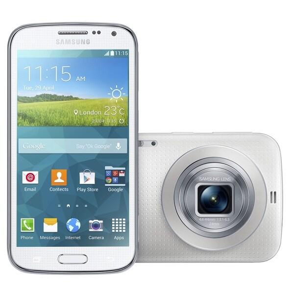 Samsung Galaxy K / S5 Zoom SM-C111 Unlocked GSM White Camera Phone