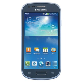 Samsung Galaxy S3 Mini SM-G730A Blue Unlocked 4G LTE Android 4.2 Jellybean Smartphone (Refurbished)