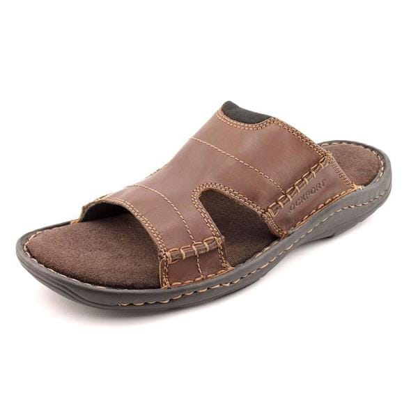 Rockport Men's 'Kevka Lake Slide' Leather Sandals (Size 9.5 )