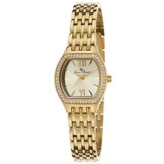 Lucien Piccard Women's LP-12124-YG-10 Clausis Goldtone Watch