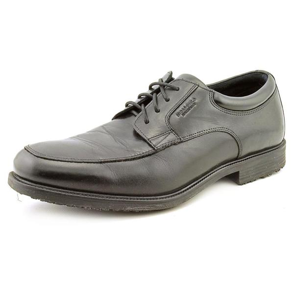 Rockport Men's 'Essential Details WP Apron Toe' Leather Dress Shoes (Size 10 )