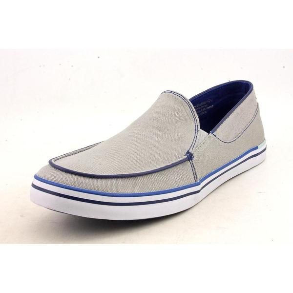 hush puppies s jase slip on mt canvas casual shoes
