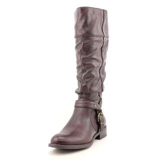 White Mountain Women's 'Lefty' Faux Leather Boots