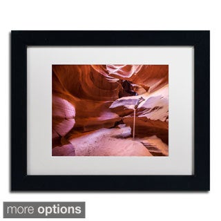 Pierre Leclerc 'Weeping Sand' Framed Matted Art