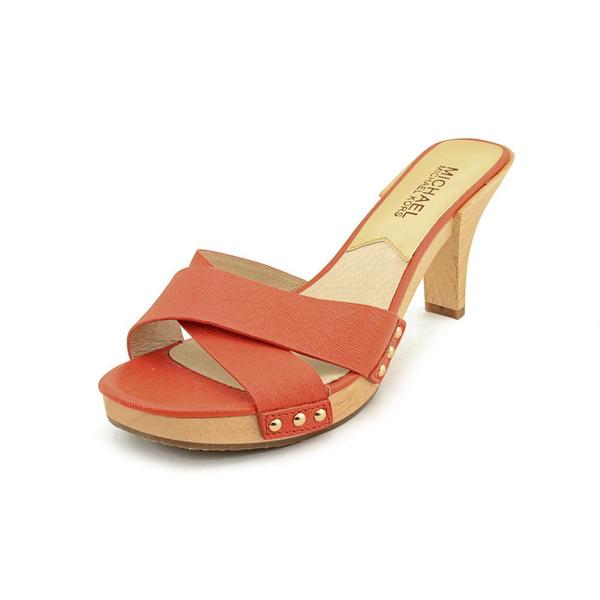 Michael Kors Women's 'Amelie Mule' Leather Sandals