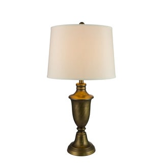 Fangio Lightings #1428CAL 29-inch Metal Table Lamp in Caldonia