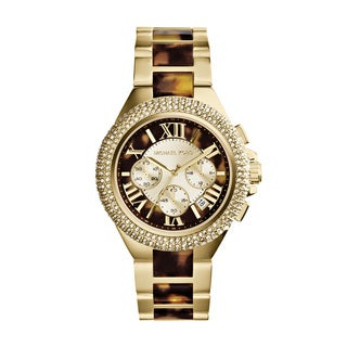 Michael Kors Women's MK5901 'Camille' Two Tone Tortoise Watch