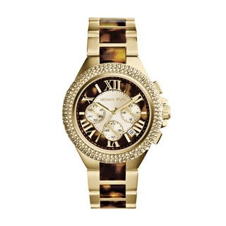 Michael Kors Women's MK5901 'Camille' Two-tone Tortoise Watch