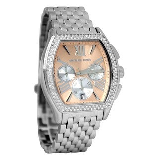 Michael Kors Women's MK5897 'Amherst' Sunray Chronograph Glitz Watch