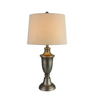Fangio Lightings #1428AP 29-inch Metal Table Lamp in Antique Pewter