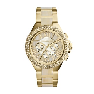 Michael Kors Women's MK5902 'Camille' Crystal Bezel Chronograph Watch