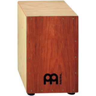 Meinl Percussion HCAJ1MH-M Mahogany Frontplate Headliner String Cajon
