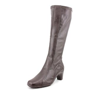 Aerosoles Women's 'Lasticity' Faux Leather Boots - Wide