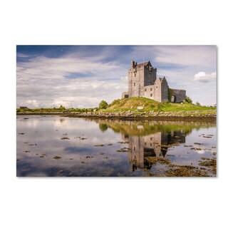 Pierre Leclerc 'Dunguaire Castle Ireland' Canvas Art