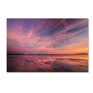Pierre Leclerc 'Baker Bounday Sunset' Canvas Art